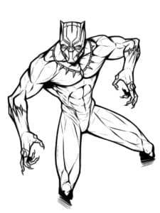 Чёрная пантера - супергерой, король Ваканды и сын Т'Чаки