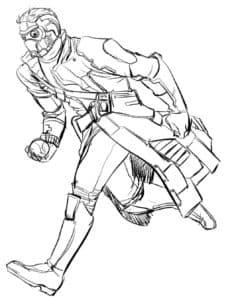 Звёздный лорд - супергерой и осмический полицейский