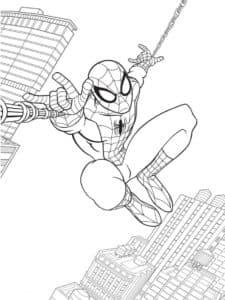 укус облученного паука наделил студента Питера Паркера невероятными силами паукообразного.