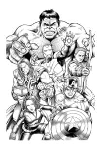 Мстители на защите планеты