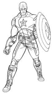 Капитан Америка может поднять 5 тонн и пробежать мили за считаную минуту