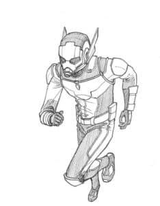 Человек-муравей имеет способность уменьшить всё что угодно до размера муравья