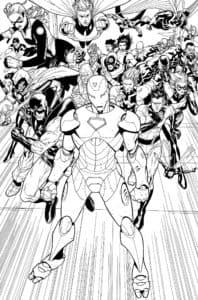 ВСе супергерои Марвел