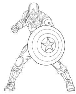 Герой вне времени Стив Роджерс борется за свободу в качестве непоколебимого Капитана Америка.