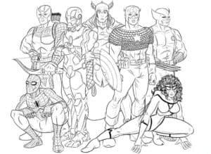 Супергерои в сборе