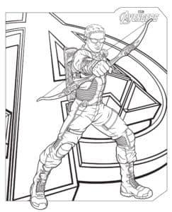 Соколиный Глаз — непревзойденный мастер стрельбы из лука, чья феноменальная меткость сравнима с суперспособностями других Мстителей
