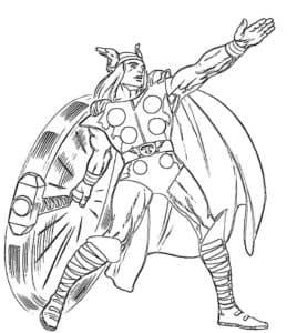 Тор нынешний король и бывший принц Асгарда, член команды Мстителей и Бог Грома