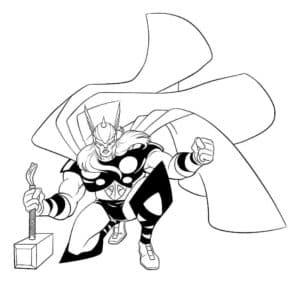 Тор, даже без молота самый сильным среди Асгардийцев