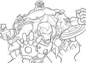 Любимые герои Мстители