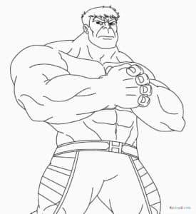 Халк Благодаря сверхразвитой мускулатуре он может преодолевать огромные расстояния за один прыжок.