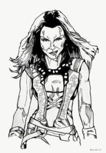 Гамора - приёмная дочь суперзлодея Таноса