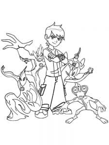 Мальчик и остальные герои Бен