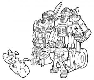 раскраска боты спасатели и собака