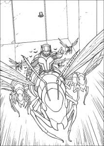 человек муравей и его армия