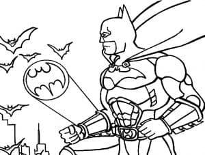 Бэтмен и летучие мыши