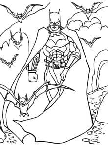 Бэтмен раскраска для мальчиков 11 лет