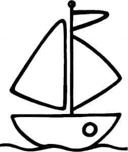 Кораблик на воде
