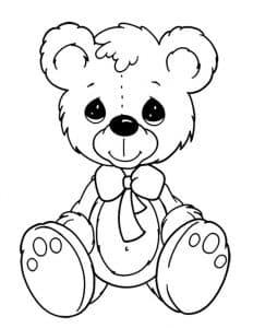 Плюшевый медвежонок