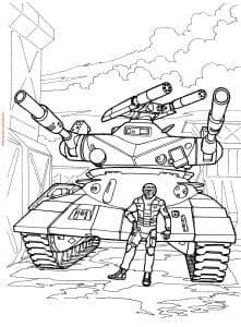 танк и воин