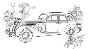 Старивнный автомобиль