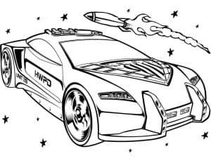 Гоночный автомобиль и ракета