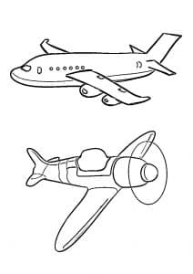 Два самолета