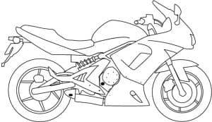 Спортивный мотоцикл