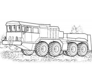 Длинный автомобиль военный
