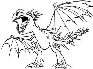 Динозавр с крыльями