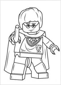 Гарри Поттер Лего колдует