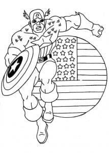 Капитан Америка спешит на помощь