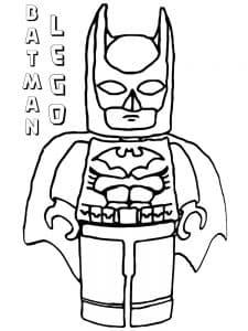 LEGO Бэтмен раскраска