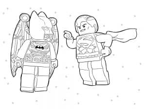Лего Бэтмен раскраска для мальчиков