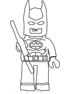Лего Бэтмен с палкой