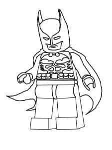 Лего Бэтмен раскраска для детей