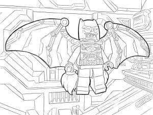 Лего Бэтмен в полете