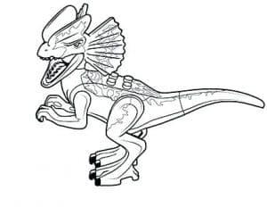 Динозавр Лего