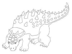 Шикарный Динозавр Лего