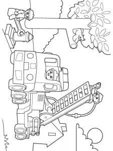 спасатели Лего Дупло раскраска