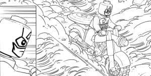 Герои Марвел лего раскраска детская