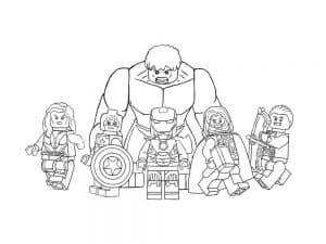 Лего мстители