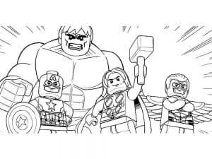 Лего мстители раскраска для мальчиков
