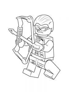 Лего мститель с луком