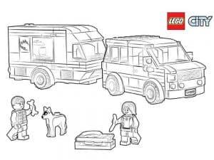 Лего машины раскраска