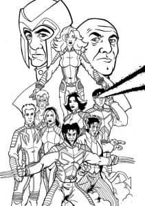 Все персонажи люди ИКС