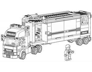 Огромная фура Лего