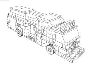 Большая машина Лего
