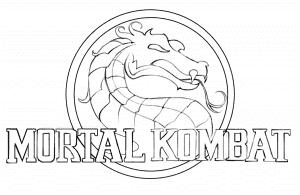 Логотип Мортал Комбат