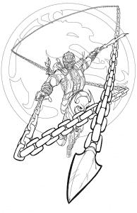 Герой с цепями