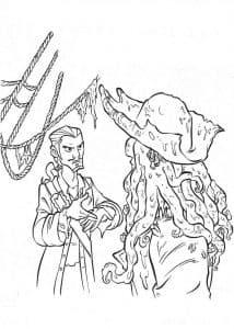Пират и Джэк воробей